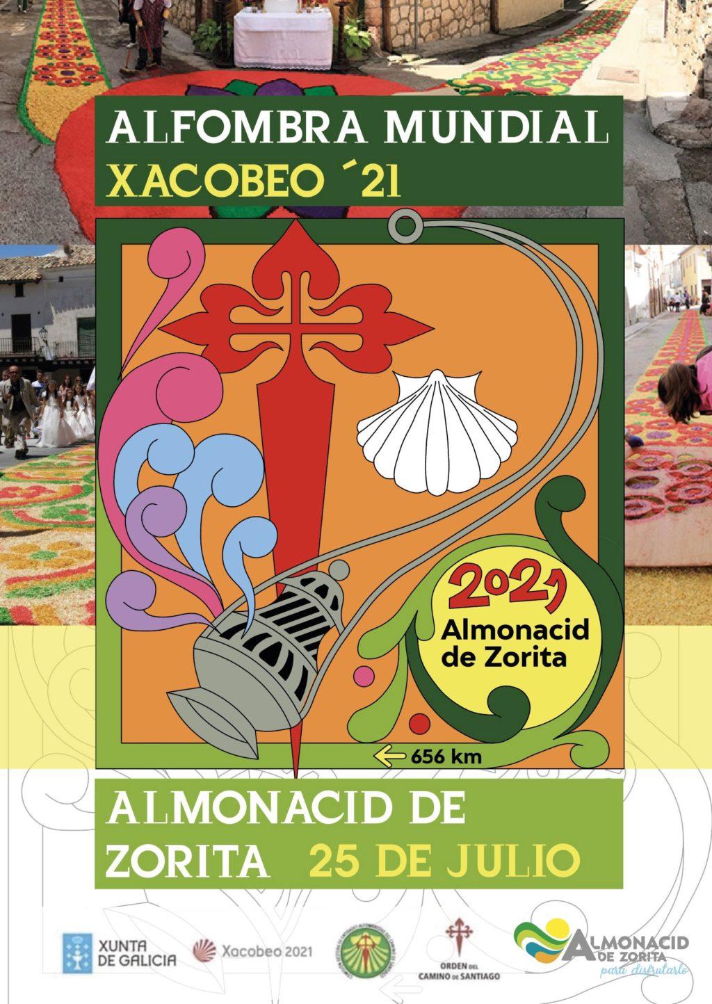 Foto de Almonacid tejerá una alfombra floral jacobea