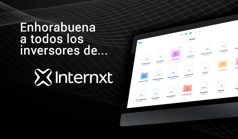 Foto de Enhorabuena a todos los inversores de Internxt