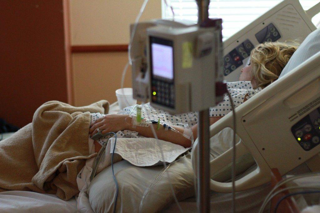 Foto de Persona ingresada en el hospital