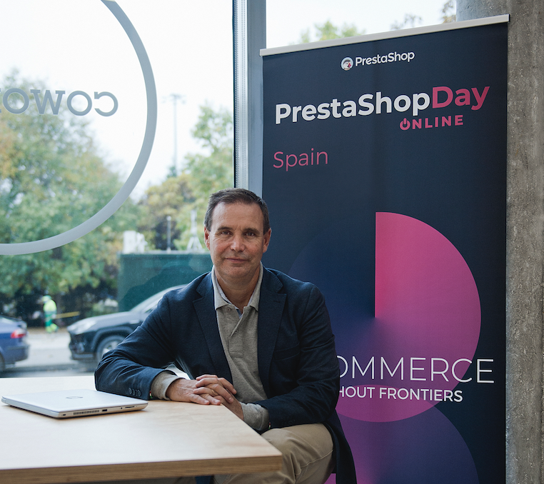 Foto de Jorge González, Country Manager de Prestashop en España